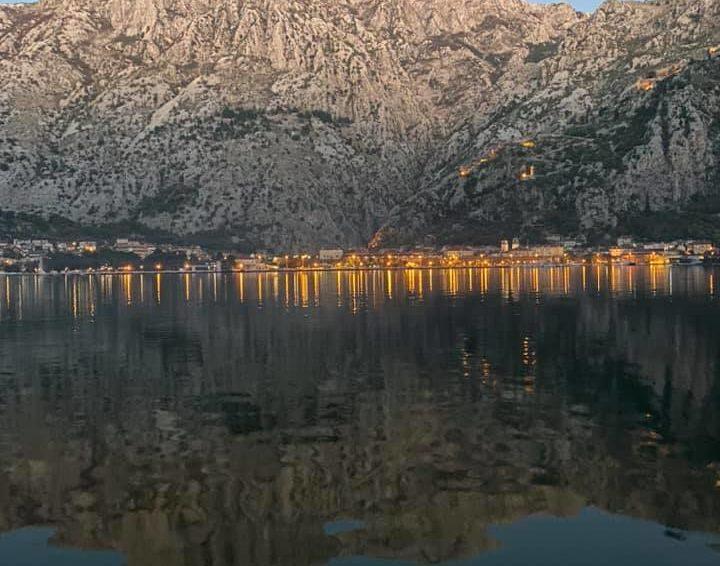 View of the beautiful city of Budva in Montenegro