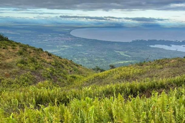 Amazing view of Nicaragua from the hike to the Mombacho volcano