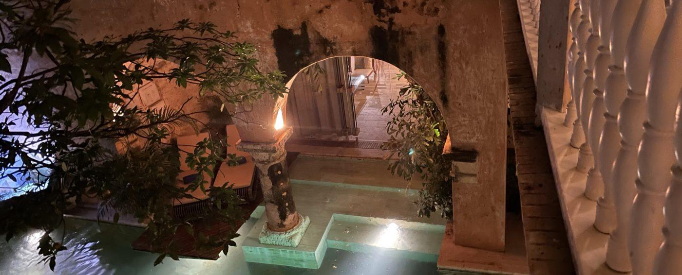The beautiful Casa Pombo hotel in Cartagena, Columbia