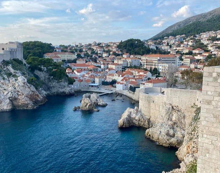 The oceanside village of Dubrovnik, Croatia