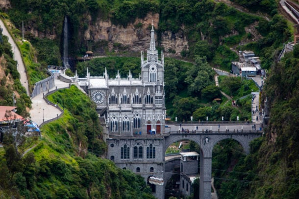 The Shrine of Our Lady of Las Lajas