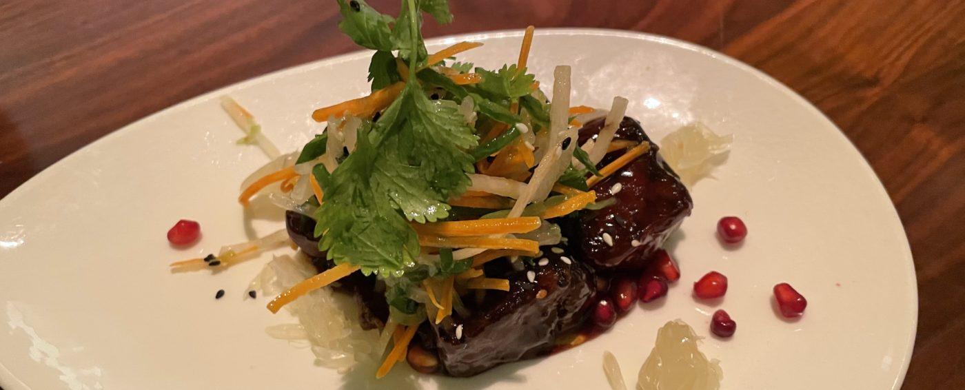 Delicious dish at Bread Street Kitchen by Gordon Ramsay in Dubai