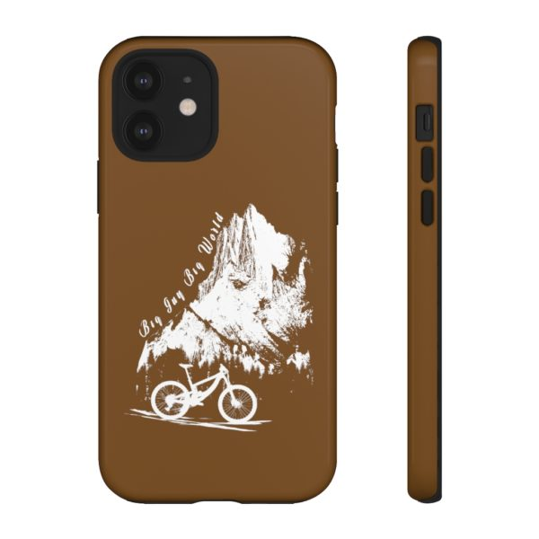 Brown Embrace the Journey Tough Phone Cases
