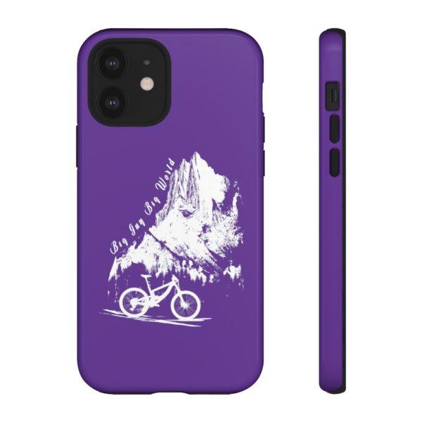 Purple Embrace the Journey Tough Phone Cases