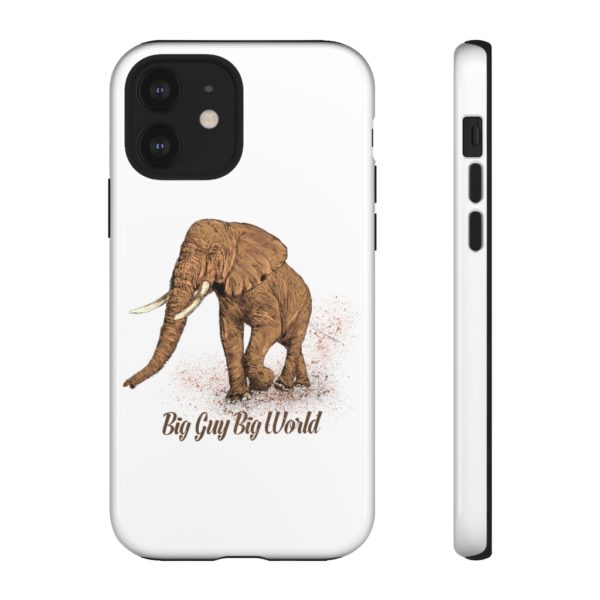 White Walk on the Wild Side Tough Phone Cases