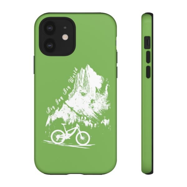 Green Embrace the Journey Tough Phone Cases
