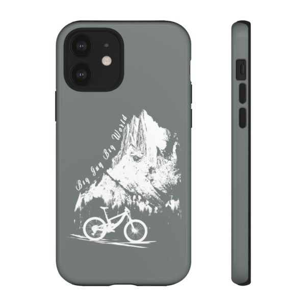Gray Embrace the Journey Tough Phone Cases