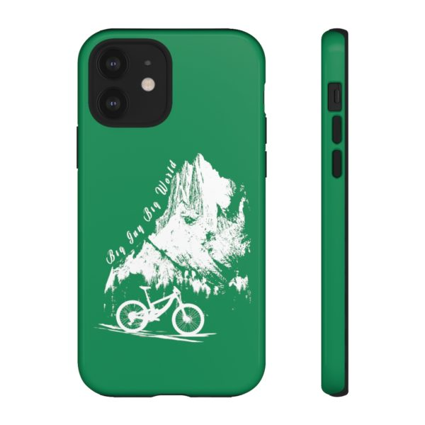 Emerald Embrace the Journey Tough Phone Cases