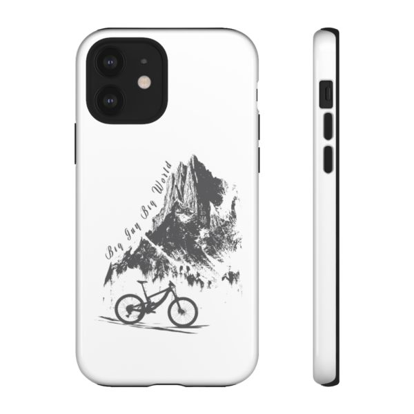 White Embrace the Journey Tough Phone Cases